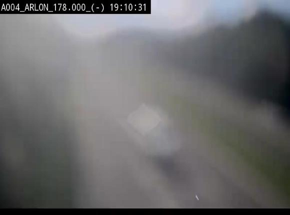 Webcam à hauteur de la sortie 31 Arlon sur l'E411, menant sur la N82. Vue orientée vers Bruxelles