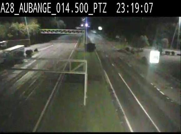 Webcam autoroute Belgique - Aubange - A28 direction Arlon - BK 14