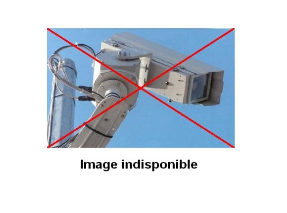 Webcam E411 juste avant la sortie 14 Namur Centre, à hauteur du radar fixe avant le Viaduc de Beez. Vue orientée vers Namur