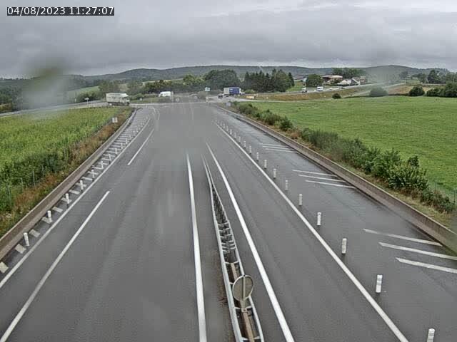 Webcam sur la N19 à Amblans-et-Velotte, à proximité de Lure, vers Vesoul