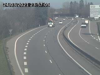 Caméra autoroute France - N83, Guémar direction Strasbourg