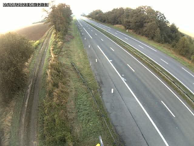 Caméra autoroute France - A30, Havange direction Metz