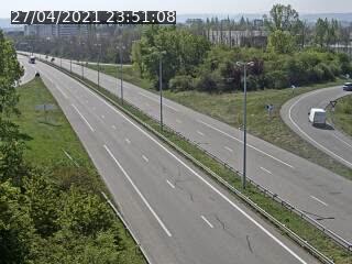 Caméra autoroute France - A35, Saint-Louis direction Mulhouse, à hauteur de la sortie 37