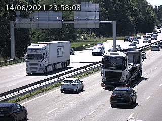 Caméra autoroute France - A35, Strasbourg direction Mulhouse