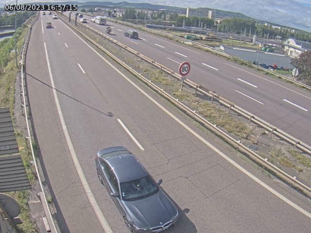 Caméra autoroute France - A31, Yutz direction Metz