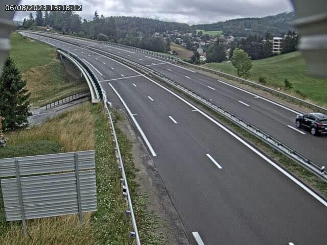 Caméra autoroute France - N57, Les Tavins direction Lausanne