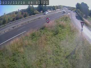 Caméra routière France - N109, Juvignac - La plaine, en direction de Clermont l'Hérault, à la sortie de Montpellier